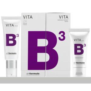 Punetuse vastane kreem VITA b3 ja punetust vähendav mask phformula